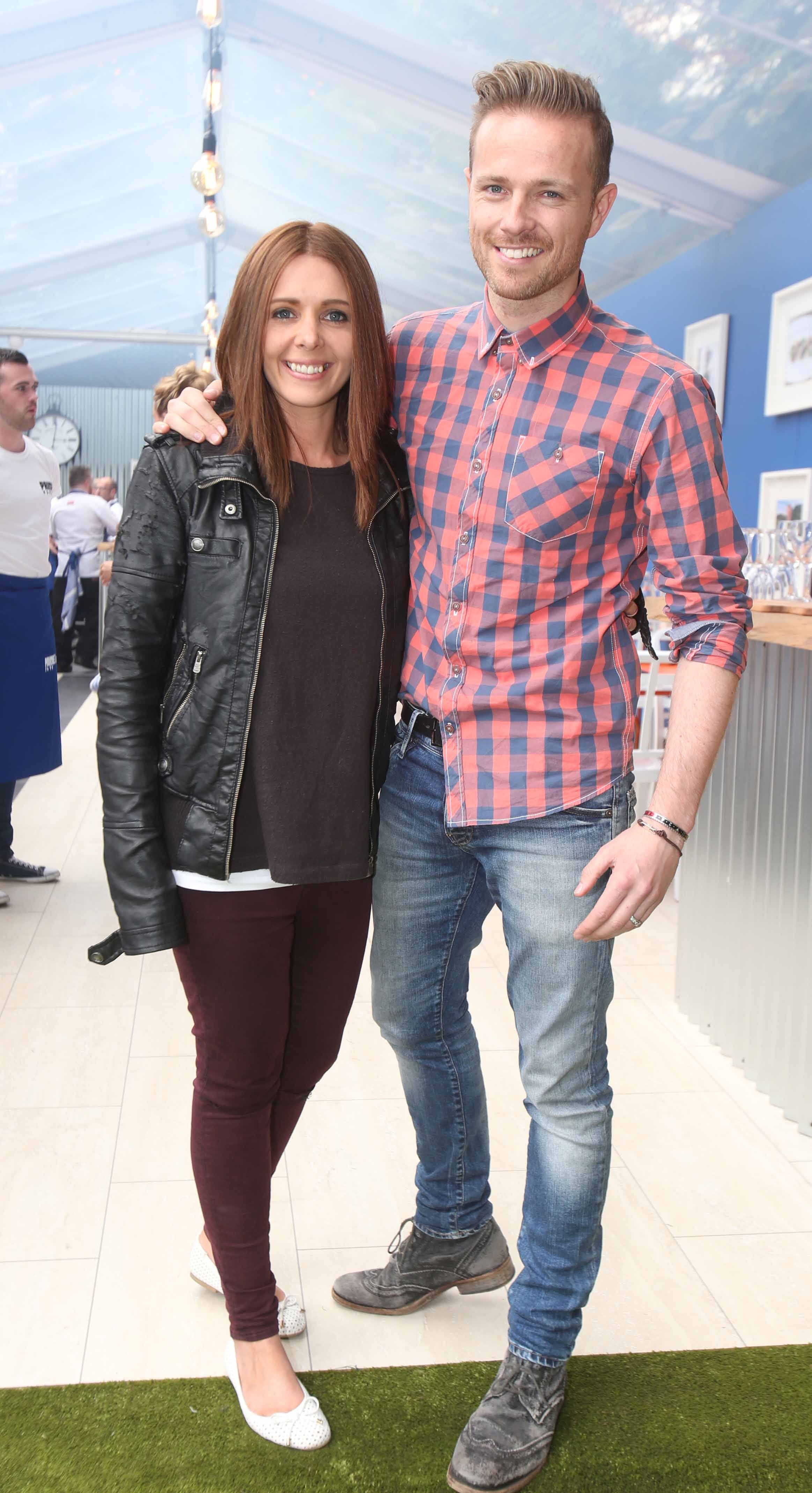 Jenny Greene and Nicky Bryne