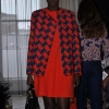 DVF red dress at BT2