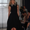Karl black pleated dress at BT2