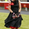 no repro feeRebecca O'Sullivan from Kildare pictured at the Dubai Duty Free Irish Derby which took place at the Curragh Racecourse on Saturday, 30th June.  The festival continues on Sunday, 1st July with the first race at 2.05pm-photo Kieran Harnett