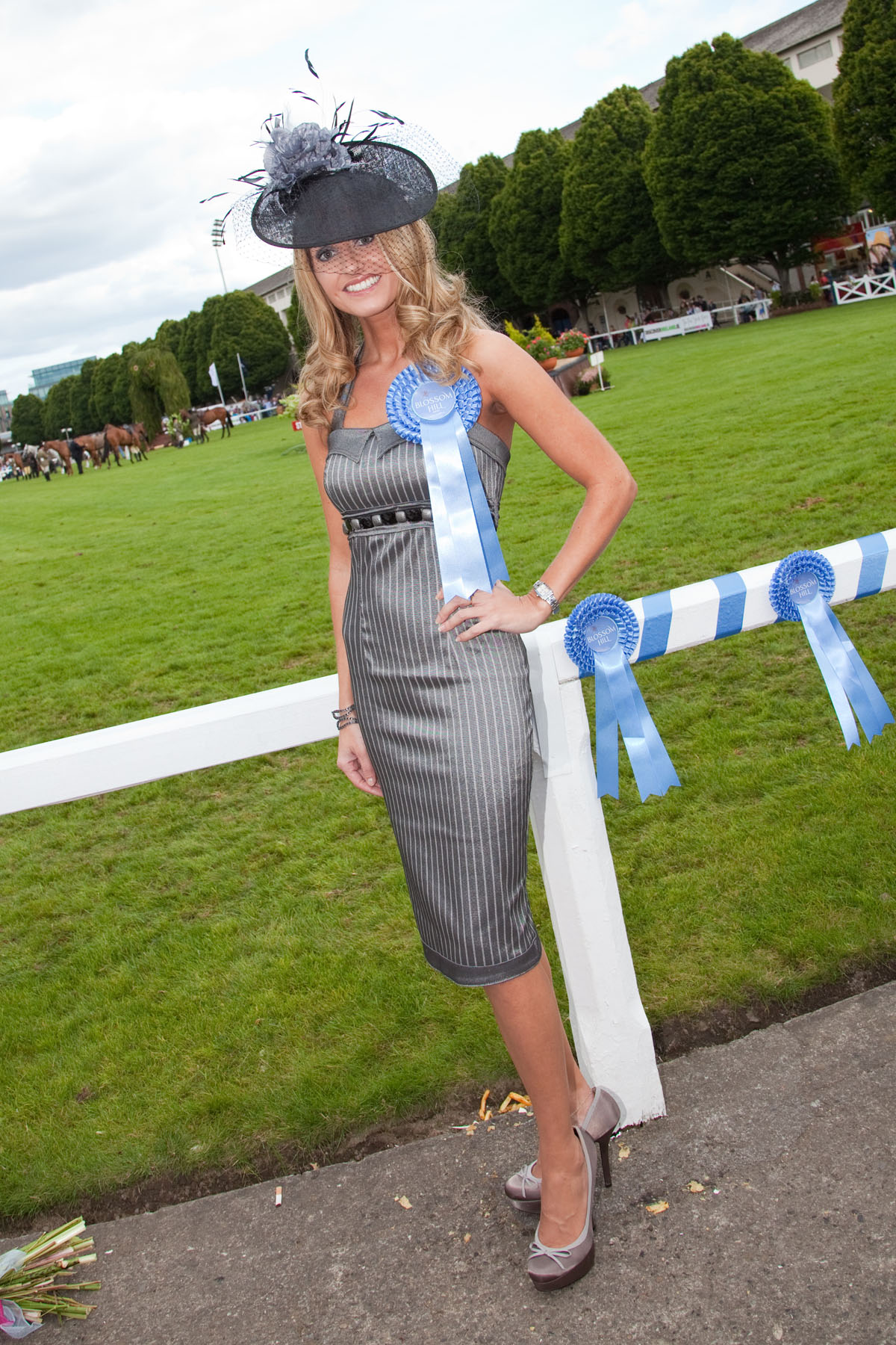 Ladies Day Dublin Horse Show 2010 Whatshewears Ie