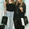 no fee for first use in diary if John Frieda Luxurious Volume mentioned in caption Ciara and Shaunagh Cummins at the John Frieda Luxurious Volume launch party with John Frieda's Jake Davis-photo Kieran Harnett