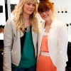23.5.13.  Fiona Archibald and Rebecca Devaney pictured at LA Creative. TV3's Xpose Presenter Karen Koster at beauty emporium LA Creative for a Summer Style extravaganza where she shared some of her insider celebrity secrets, red carpet top tips to beauty junkies and fashion-istas. photo  by Richie Stokes