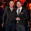 Keith Barry and Shane Gillen at the launch of Late Night Magic at The Sugar Club Leeson St