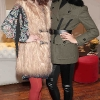 Kate Sheridan and Lydia Bowers pictured at The Littlewoods Ireland Autumn Winter Fashion  Showcase at fallon and Byrne in Exchequer Street,DublinPicture:Brian McEvoy