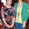 Emma Parkin and Denise Maguire pictured at The Littlewoods Ireland Autumn Winter Fashion  Showcase at fallon and Byrne in Exchequer Street,DublinPicture:Brian McEvoy