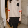 Aoibhinn Ni Shuillabhain at the launch of the Marks & Spencer Spring Summer 2012 collection-photo Kieran Harnett