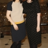 Lorraine Dwyer and Claire Guiney at the launch of the Marks & Spencer Spring Summer 2012 collections-photo Kieran Harnett