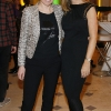 Tara Fay and Debbie O'Donnell at the launch of the Marks & Spencer Spring Summer 2012 collections-photo Kieran Harnett