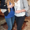 Emma Cogan and Johanna Cooney  at the opening of Neola Boutique at Dundrum Town Centre Dublin Pic Brian McEvoy