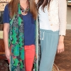 Aleana O Shea and Laura King  at the opening of Neola Boutique at Dundrum Town Centre Dublin Pic Brian McEvoy