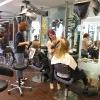 Team Ireland's Mums pampered ahead of London 2012 Olympic Games- hair styled by the country's top Wella Professionals Stylists