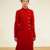 Red coat from Paul Costelloe aw13