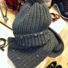 Penneys AW13 studded beanie and scarf