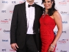 NO fee for repro. Pictured here are Kevin O'Connor and Audrey McGrath who attended the People of the Year awards 2010 ceremony, sponsored by Quinn Healthcare, organised by Rehab and held in the CityWest Hotel, Dublin on September 11th, Pic CPR