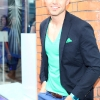 Darren Kennedy pictured at the launch of the Peroni Pop Up Boutique on Castle Market Street Dublin. Photo: Anthony Woods