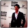 Made in Chelsea's Proudlock at  the Scottish Fashion Awards