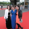 from left to right Aoife Kelly, Anne Marie Boyhan (WhatSheWears.ie) and Corina Gaffey