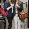Sarah Yates and Deirdre Murphy at the Selected Femme/Home Spring Summer Launch Fashion Show at BT2 Grafton Street