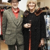 John Jackson and Frances Kavanagh at the Selected Femme/Home Spring Summer Launch Fashion Show at BT2