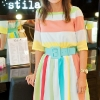Laura O'Brien at the launch of Stila at Harvey Nichols, Dundrum