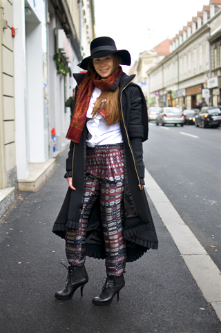 Lana, street style Zagreb