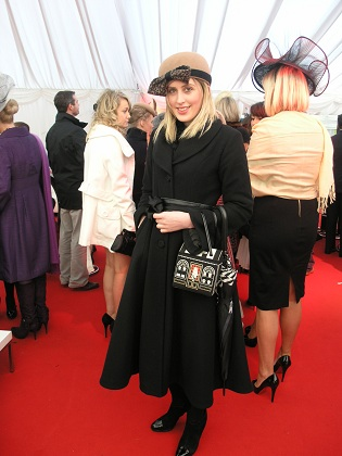 Heidi Higgins at Lexus Chase Day at Leopardstown