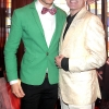 Darren Kennedy and Julian Benson   pictured at the opening of  Wilde Bar Club and Venue in Wicklow Street ,DublinPic Brian McEvoy