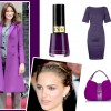 What She Wears: Purple