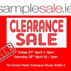 SampleSale.ie Event – 28/04/12