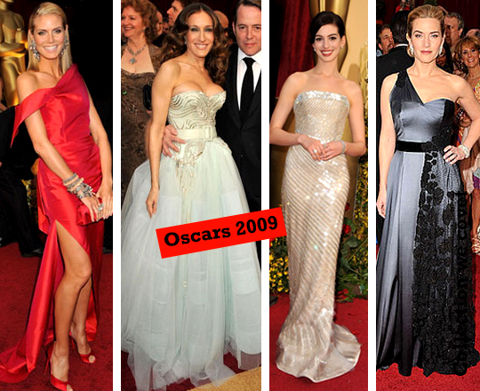 What She Wears: Oscars 2009