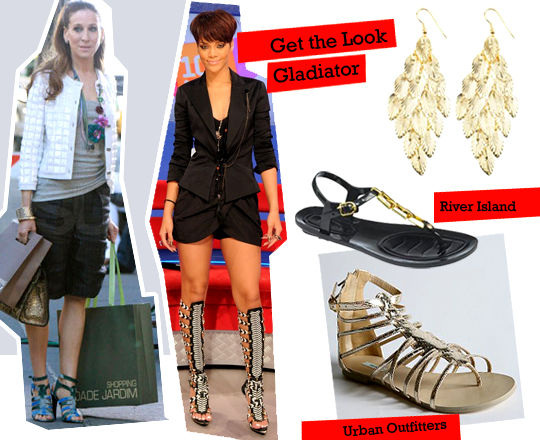 Get the look: Gladiator