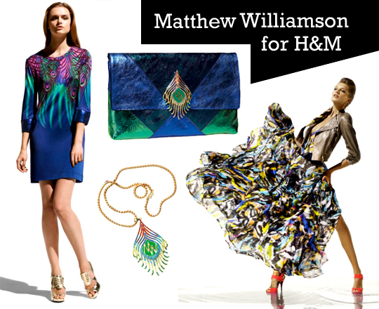 Collection We Covet: Matthew Williamson for H&M