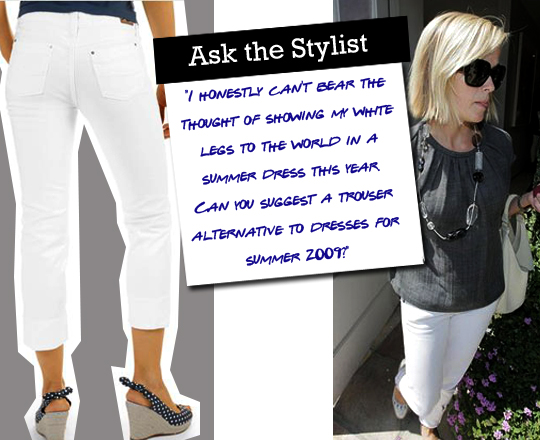Ask the Stylist: White Jeans