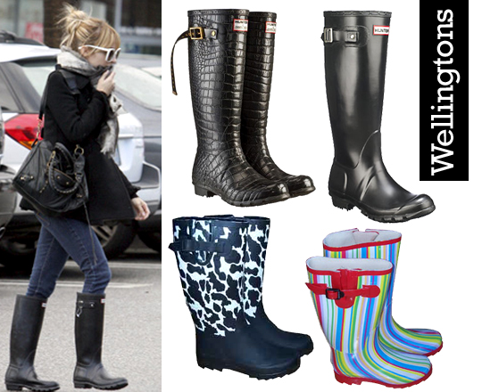 Shopping: Wellingtons