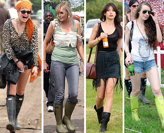 What She Wears: Glastonbury
