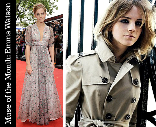 Muse of the Month: Emma Watson