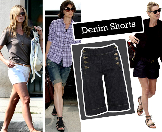 Still Lingering: Denim Shorts
