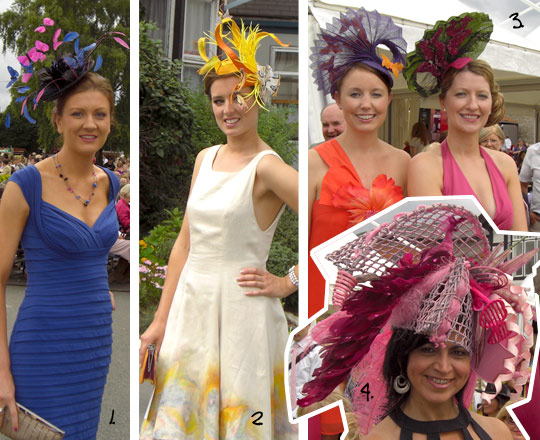 Ladies Day at The Dublin Horse Show 2009