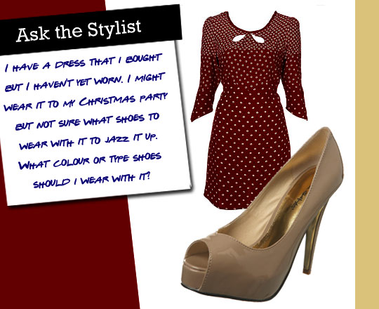 Ask the Stylist: Nude Shoes