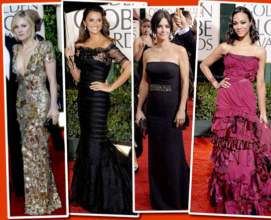 What She Wears: Golden Globes