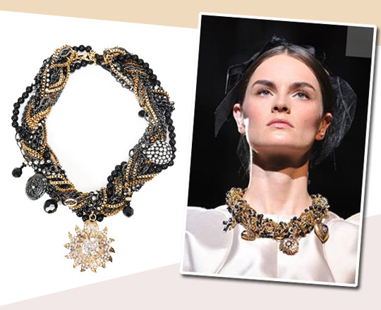 Win a Catwalk Inspired Collar Necklace