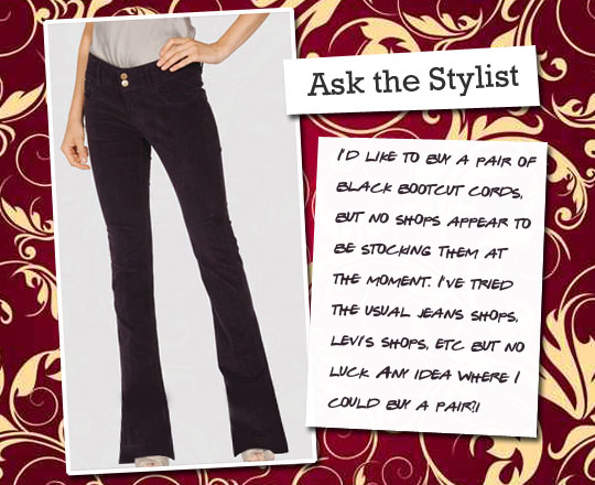 Ask the Stylist: Black Cords