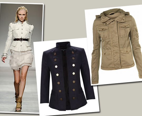 Go Buy Now: Military Jacket