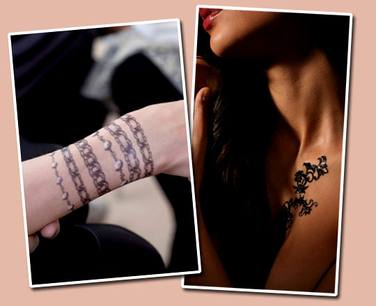 "Win Transfer Tattoos a la ""Chanel"""