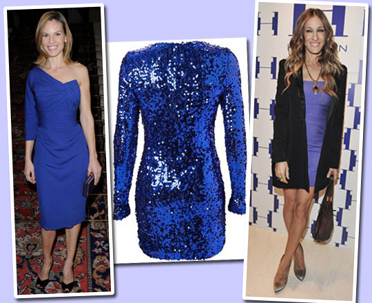 What She Wears: Cobalt Blue