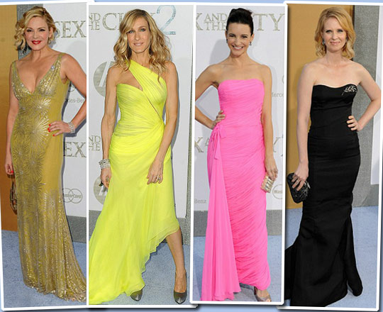 What She Wears: NYC Premiere SATC2