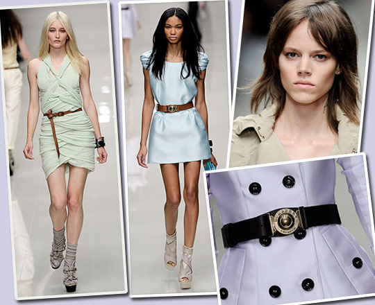 Influenced By: Burberry SS10