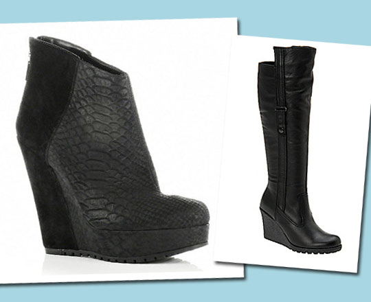 Ask the Stylist: Wedge Boots