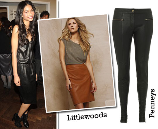 What She Wears: Leather